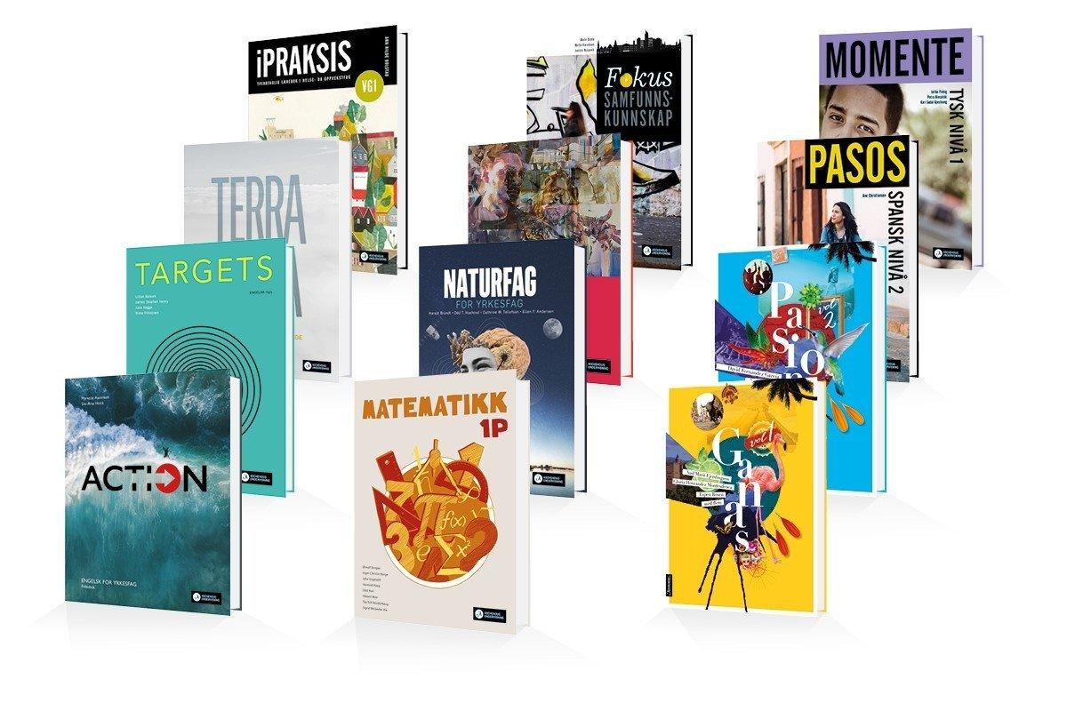 Bilder av bøker gitt ut i 2020